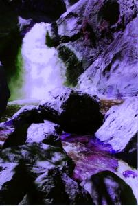 WasserfallBlau